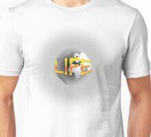 World - Life Orange and Yellow Unisex T-Shirt