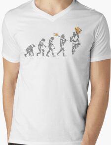 Evoluken Mens V-Neck T-Shirt