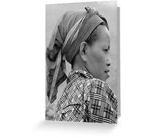 Dao Woman Greeting Card
