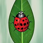 Lady Bug iphone Case by imagetj