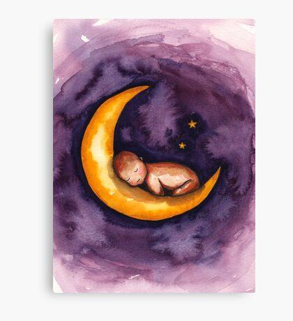 Sleep, Baby, Sleep Canvas Print