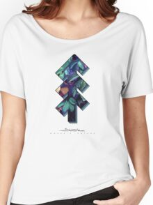 The Tree of Shubie Autumn Aqua Women's Relaxed Fit T-Shirt