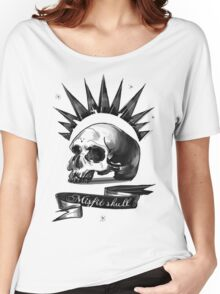 Mistic Skull  Women's Relaxed Fit T-Shirt