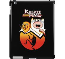 Karate Time iPad Case/Skin