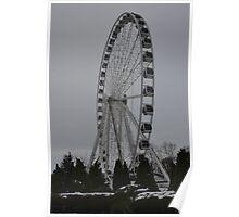 Big Wheel Keeps on Turning Poster