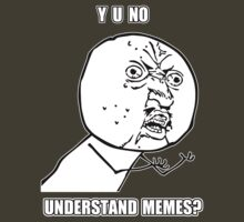 Y U No - Understand Memes? by Artificialx