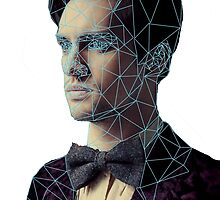Polygon Portrait of Brendon Urie by eclecticmess