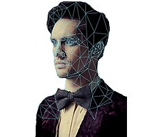 Polygon Portrait of Brendon Urie Photographic Print