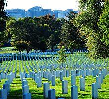Blue Cemetery by Motyka03