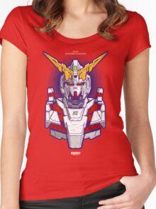 Unicorn Gundam Women's Fitted Scoop T-Shirt