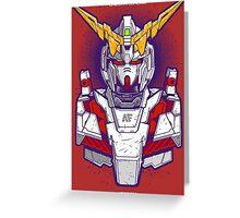 Unicorn Gundam Greeting Card