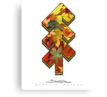 The Tree of Shubie Autumn Canvas Print