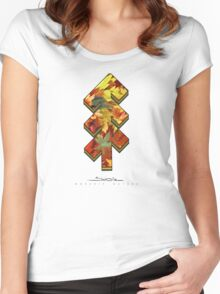 The Tree of Shubie Autumn Women's Fitted Scoop T-Shirt