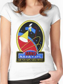 Mars Reconnaissance Orbiter (MRO) Program Logo Women's Fitted Scoop T-Shirt