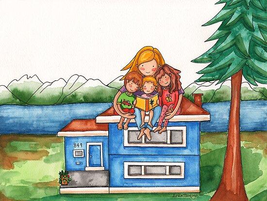 Homeschooling by Erika  Hastings
