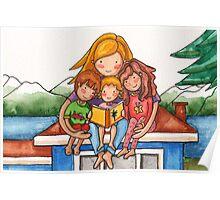Homeschooling Family Poster