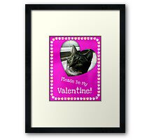 Happy Valentines ©  Framed Print