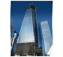World Trade Center as Seen from 9/11 Memorial, New York Poster