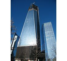 World Trade Center as Seen from 9/11 Memorial, New York Photographic Print