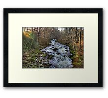 The Moness Burn Framed Print