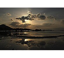 Elounda Salt lakes  Photographic Print