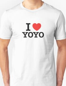 I Love YOYO T-Shirt