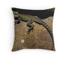 Rock Star (eastern water Dragon) Throw Pillow