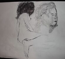 Life drawing(5 of 6) -(080212)- black biro pen/digital photo by paulramnora