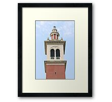 Belltower Framed Print
