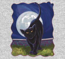 Animal Parade Black Cat One Piece - Long Sleeve