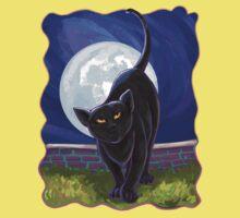 Animal Parade Black Cat Baby Tee