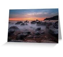 Pacific Mists Greeting Card
