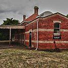 "''Koroit Railway Station"" by bowenite"