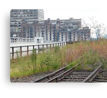 High Line, Abandoned Railyards Section, New York Canvas Print