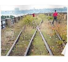 High Line, Abandoned Railyards Section, New York Poster