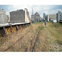 High Line, Abandoned Railyards Section, New York Photographic Print