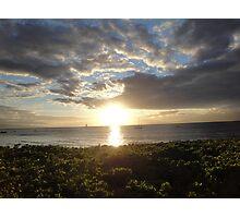 Lahaina Sunset Photographic Print