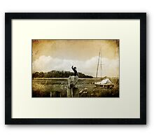A Perfect View Framed Print