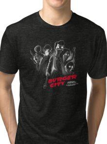 Burger City Tri-blend T-Shirt