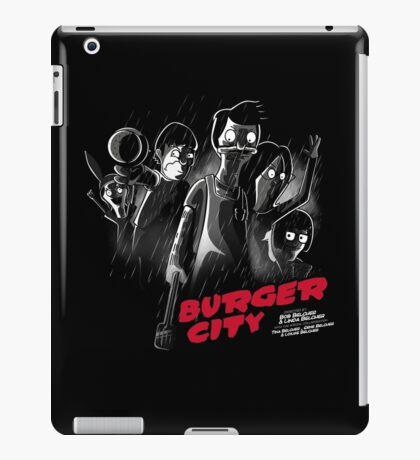 Burger City iPad Case/Skin