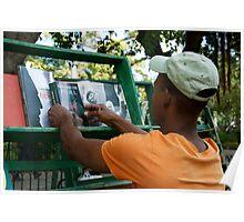 Havana Bookstore Poster