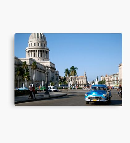 National Capital Canvas Print