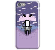 Cloud Games- Batcat Hangin' in a Raincloud iPhone Case/Skin