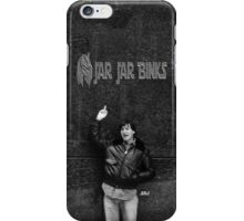 "Steve Jobs Says: ""Screw You Jar Jar Binks"" iPhone Case/Skin"
