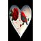 *•.¸♥♥¸.•*CARDINAL HEART OF LOVE♥♥ IPHONE CASE*•.¸♥♥¸.•* by ╰⊰✿ℒᵒᶹᵉ Bonita✿⊱╮ Lalonde✿⊱╮