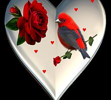 "*•.¸♥♥¸.•*CARDINAL HEART OF LOVE ""DID I TELL U THAT I LOVE U""??*•.¸♥♥¸.•* by ✿✿ Bonita ✿✿ ђєℓℓσ"