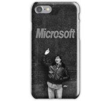 """Steve Jobs Says: """"Screw you Microsoft"""" iPhone Case/Skin"""