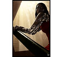 Cyberpunk Photography 005 Photographic Print