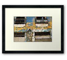 Havana Facade Framed Print
