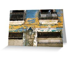 Havana Facade Greeting Card